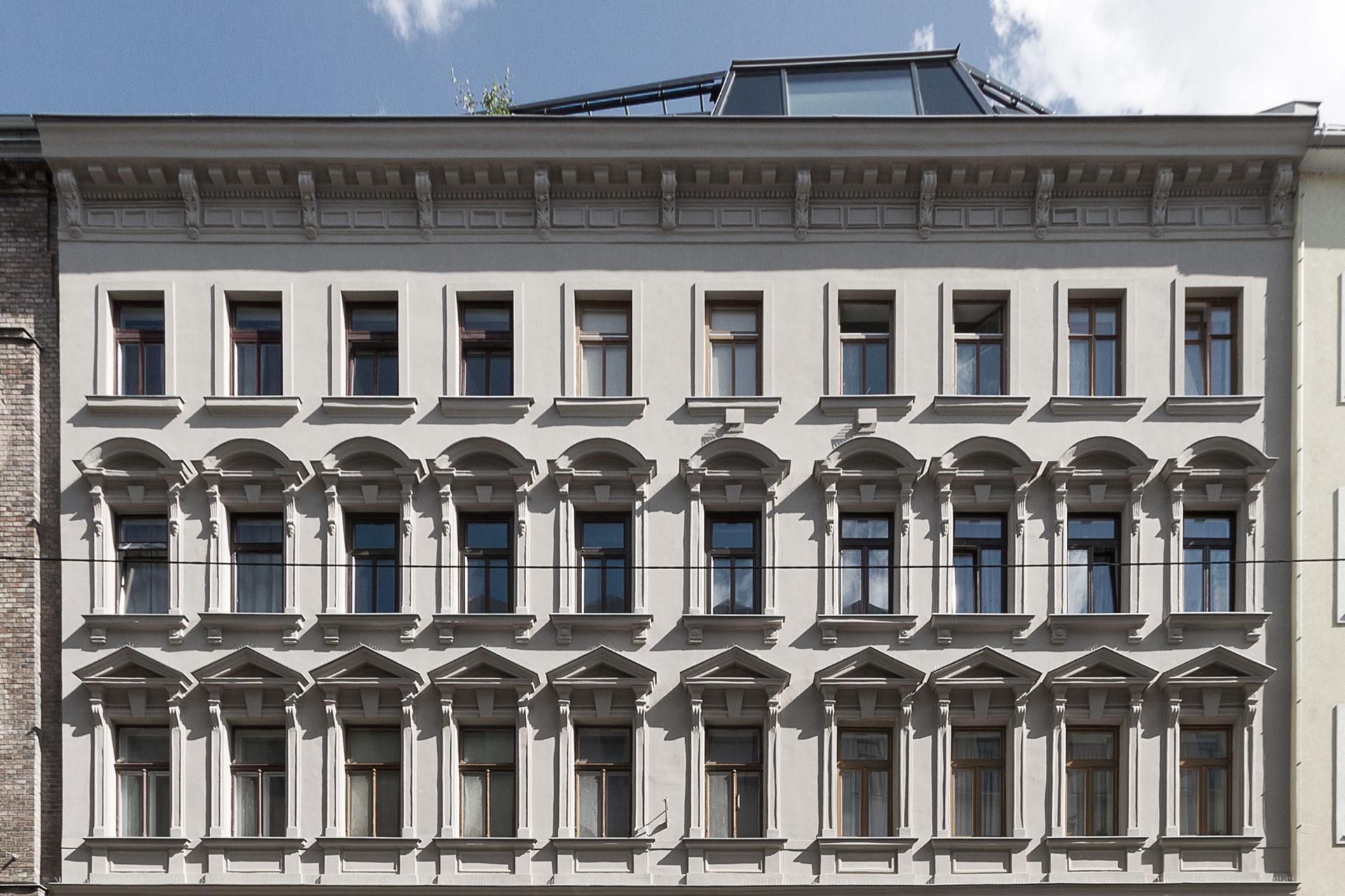 AVEST - Immobilie Arbeitergasse, 1050 Wien, Außenaufnahmen der Fassade