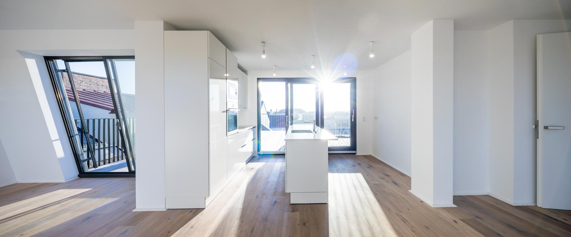AVEST Immobilie in der Hollergasse 40, 1150 Wien. Wohnküche Top 40