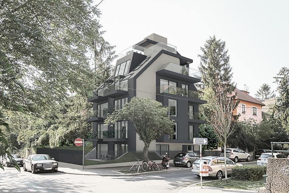 AVEST Immobilie - Objekt in der Sollingergasse, Neubau eines Wohnhaus in 1190 Wien