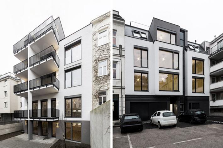 AVEST Immobilie Bergenstammgasse, 1130 Wien. Neubau Wohnhaus mit Gärten, Terrassen und Balkonen.