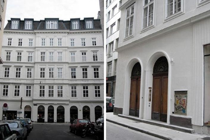 AVEST Immobilie Kramergasse, 1010 Wien. Sanierung der allgemeinen Teile des Hauses.