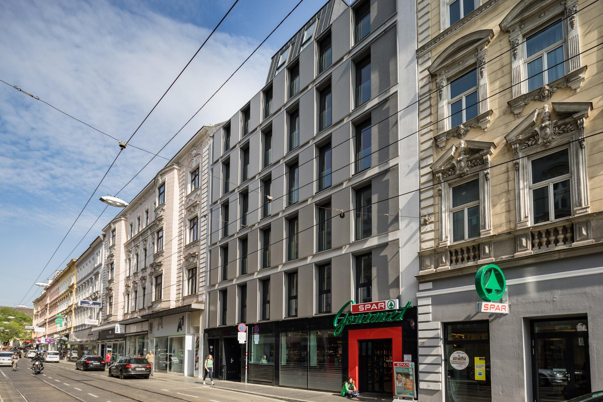 Währinger Straße 92 - Neubauansicht
